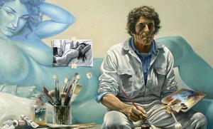 Bruno SCHMELTZ - Painting - Le peintre