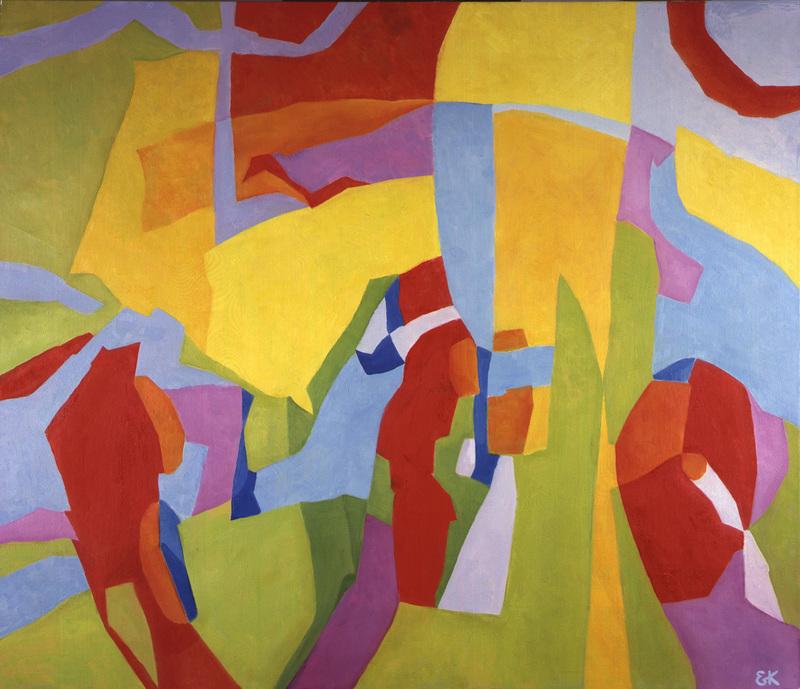 "Elena KELLER - Pintura - ""Illusions"""