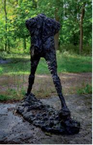 Serge MANSAU - Sculpture-Volume - Les petits marcheurs 1