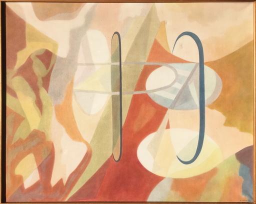 Chouchanik SEFERIAN - Gemälde - Paysage oubli ou Pile ou face