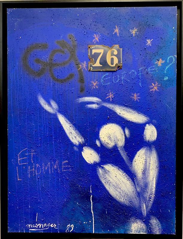 Jérôme MESNAGER - Painting - Et l'Homme - Europe?