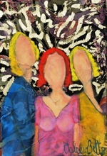 Valerio BETTA - Painting - Ricordo d'oriente- Remember east