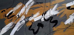 Marie Edmée SEGUIN - Painting - Il Est Temps De Rallumer Les Etoiles n°26