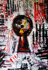Vesna KRSMANOVIC - Pintura - Secret    (Cat N° 4976)