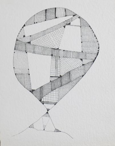 Huguette CALAND - Zeichnung Aquarell - Untitled