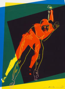 Andy WARHOL, Art and Sports: Speed Skater