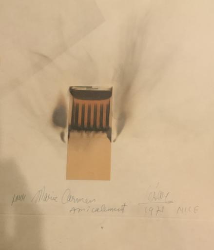 CÉSAR - Sculpture-Volume - Combustion allumettes
