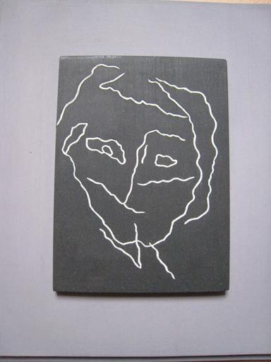 Hans ARP - Peinture - TETE A LIGNE  SISMIQUE
