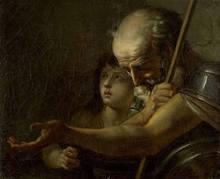 Jacques Louis DAVID - Peinture - Le Bélisaire