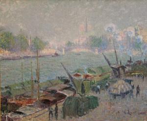 Gustave LOISEAU, Le Pont Henri IV - Paris