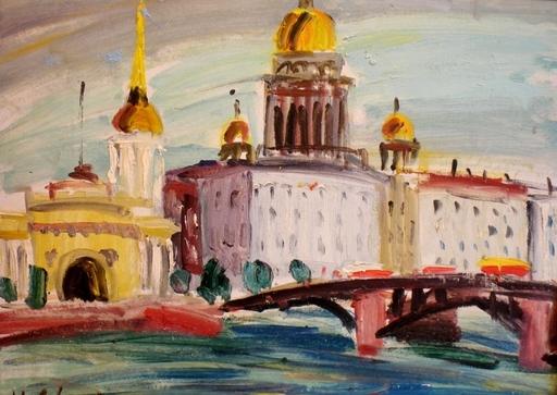 Herberts SILINS - 绘画 - Petersburg