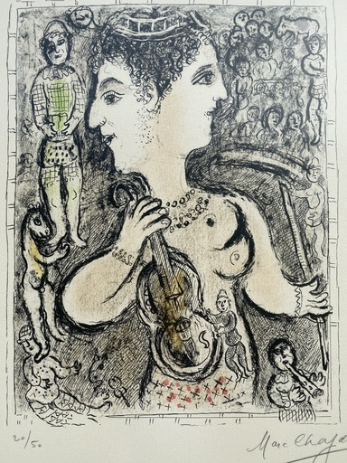 Marc CHAGALL - Estampe-Multiple - Double Face (M. 925)