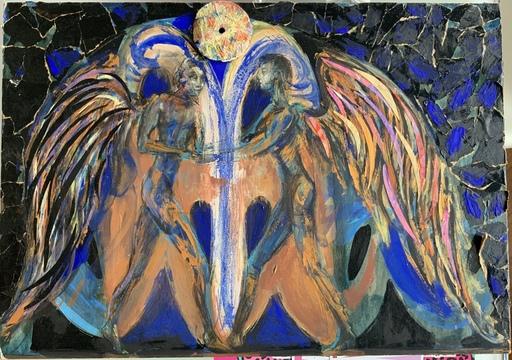 Bruno CECCOBELLI - Painting - PUNTO DECISIVO