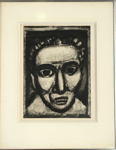 Georges ROUAULT - Drawing-Watercolor - Satan III - Georges Rouault - 1926