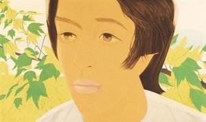 Alex KATZ - Grabado - Boy with Branch 1 + 2