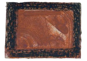 霍华德·霍奇金 - 版画 - Cardo's Bar (black)