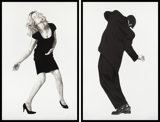 Robert LONGO - Grabado - Barbara & Raphael from Men in the Cities