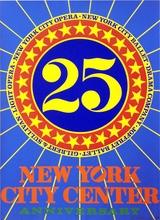 Robert INDIANA - Print-Multiple - New York City Center