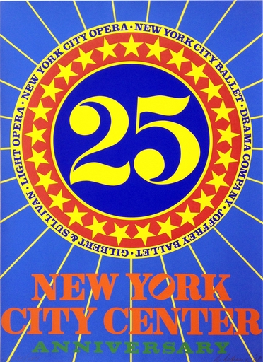Robert INDIANA - Grabado - New York City Center