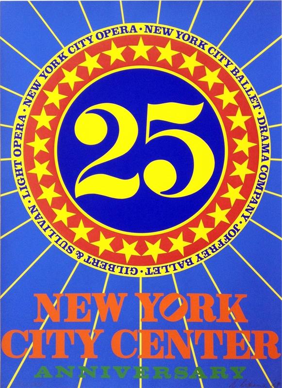 Robert INDIANA - Estampe-Multiple - New York City Center