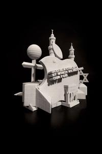 Filip MARKIEWICZ - Escultura - The Limbic system (Apple Religion)