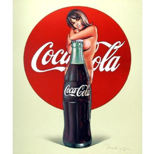 Mel RAMOS - Druckgrafik-Multiple - Lola Cola