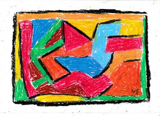 Harry BARTLETT FENNEY - Drawing-Watercolor - songbird alights
