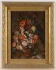 """Josef Kamenitzky STEINER - Gemälde - """"Bouquet in Manner of Jan Bruegel"""", 20th Century"""