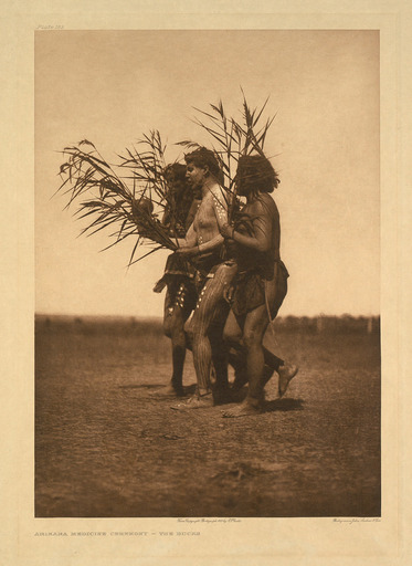 Edward S. CURTIS - Fotografia - Arikara Medicine Ceremony – The Ducks