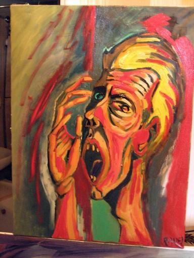 Franck RAVEL - Peinture - L'APPEL DES HOMMES
