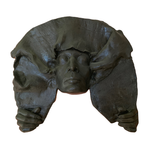 MARISOL - Sculpture-Volume - Rostro con Manto