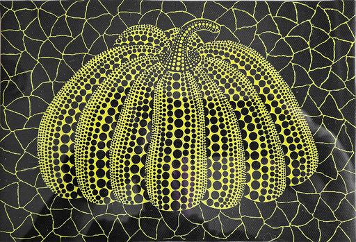 Yayoi KUSAMA - Peinture - Pumpkin 1997