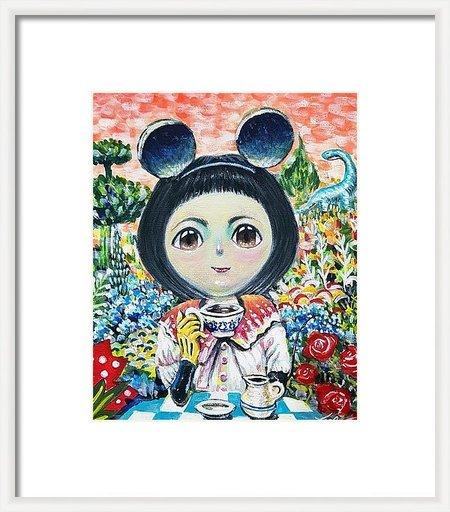 Seung-Hun SHIN - Gemälde - Fantasy Jesuisland- Island Girl Story Chun-ya Healing Garden