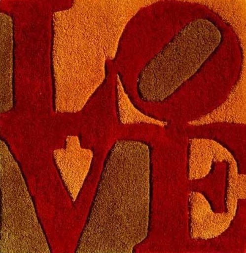 罗伯特•印第安纳 - 挂毯