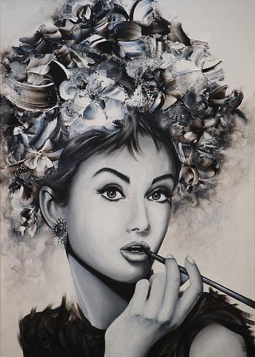 Estelle BARBET - Peinture - Audrey