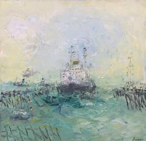 Jean FUSARO - Pintura - Ferry-Boar