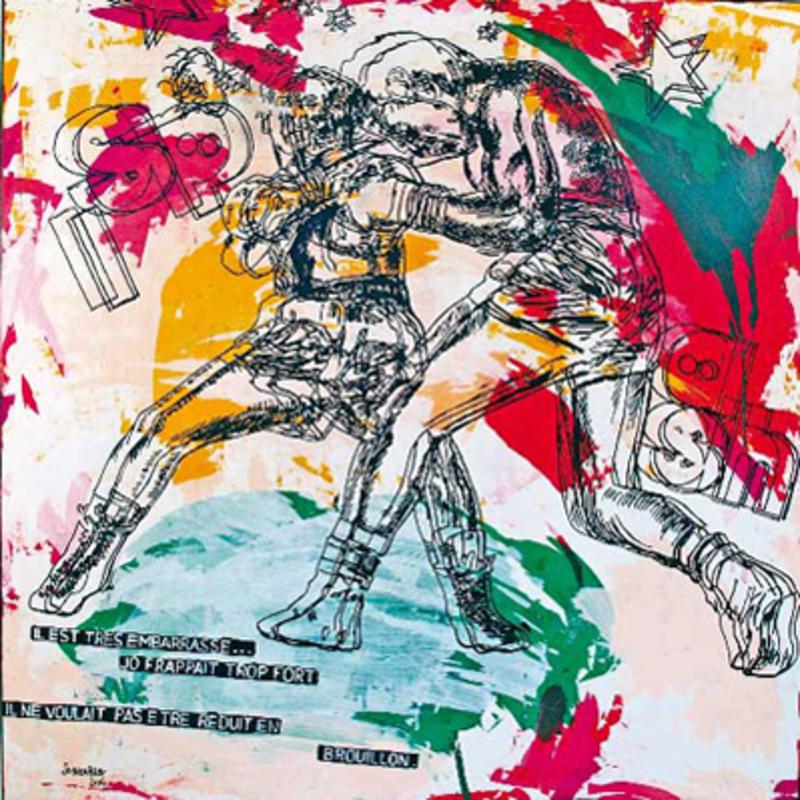 Jo BROUILLON - Gemälde - Boxing