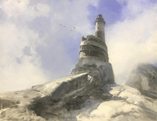 Alexey ALPATOV - Painting - Lighthouse