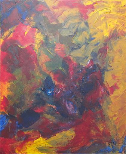 Kyna DE SCHOUEL - Peinture - Les coraux