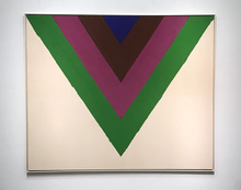Kenneth NOLAND - Pintura - Across (Sold)