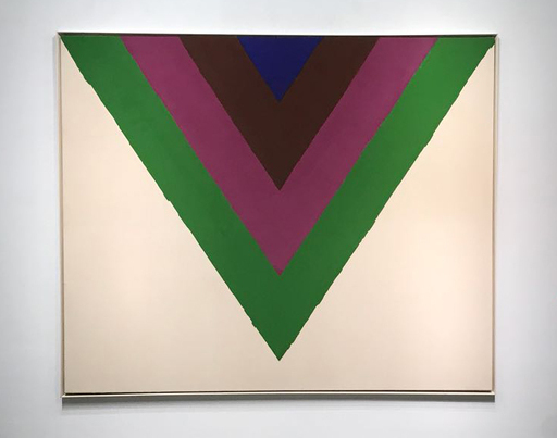 Kenneth NOLAND - Painting - Across (Sold)