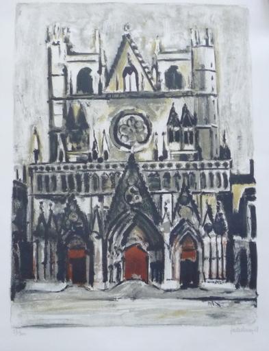 Raymond JAILLET-HENON - Print-Multiple - la cathedrale