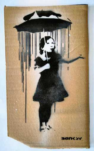 班克斯 - 版画 - Art Nola Banksy
