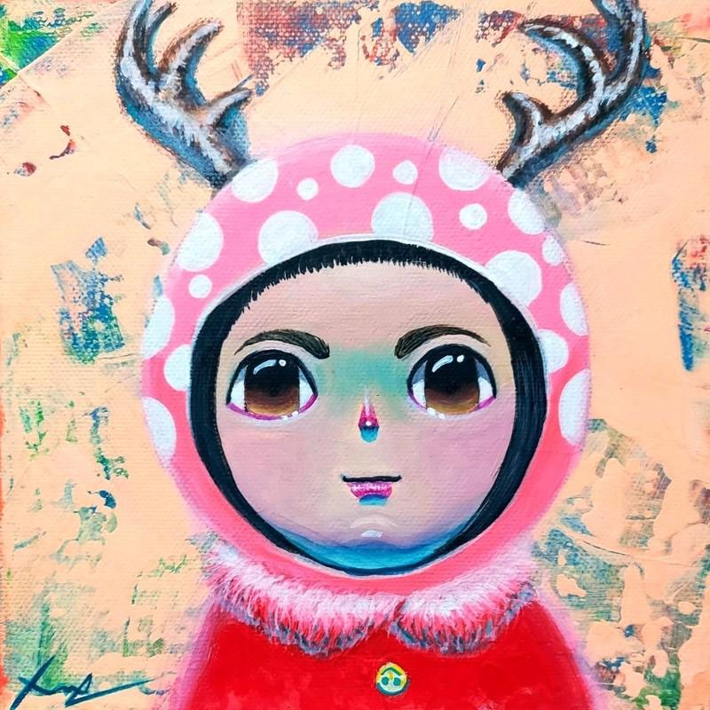 Seung-Hun SHIN - Gemälde - Fantasy Jesuisland - Island Girl Story Chun-ya Healing Garde