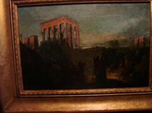 John Eaton WALKER - Pintura - Beduinen am Feuer Orient