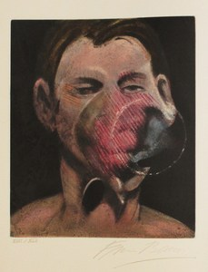 Francis BACON, Portrait of Peter Beard