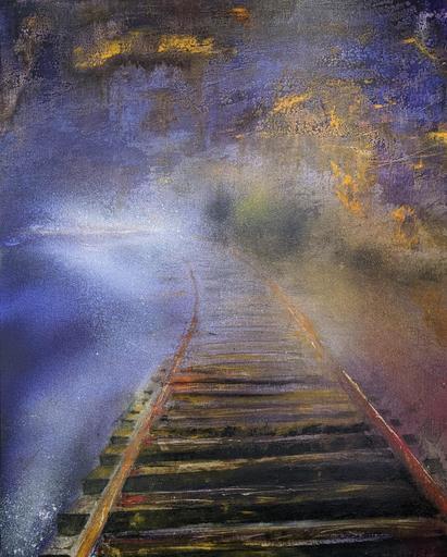 Dann AUBERT - Peinture - Chemin vers l'Infini