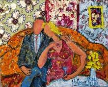 Valerio BETTA - Painting - Coppia felice