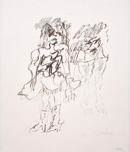 Willem DE KOONING - Grabado - Two Women