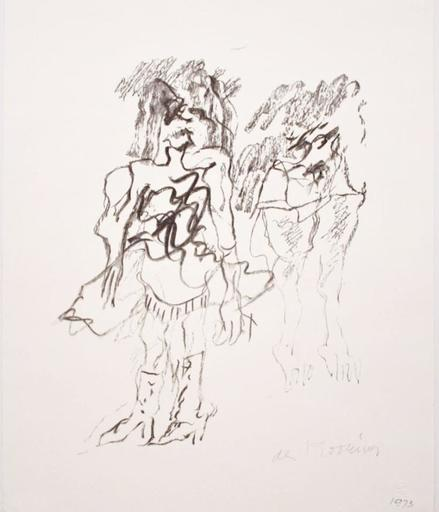 Willem DE KOONING - Grabado - Two Women
